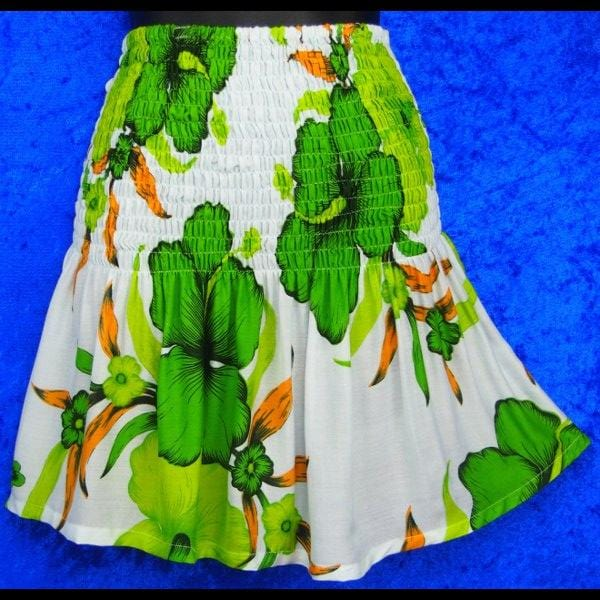 Bright Flower Baby Doll Convertible Top/Skirt-Tops-Peaceful People