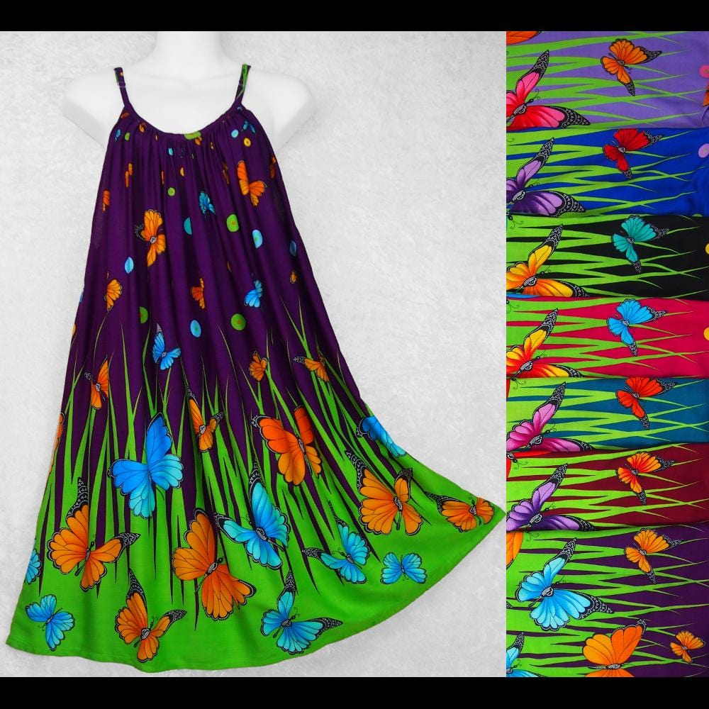 Butterfly Parachute Dress-Dresses-Peaceful People