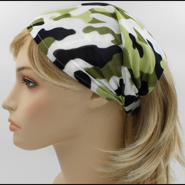 12 Camouflage Elastic Bandana-Headbands ($1.60 each)-Bags & Accessories-Peaceful People