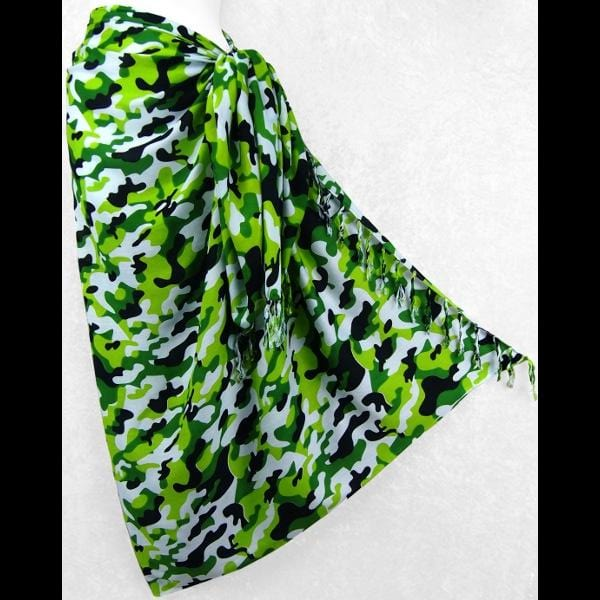 Camouflage Sarongs-Sarongs-Peaceful People