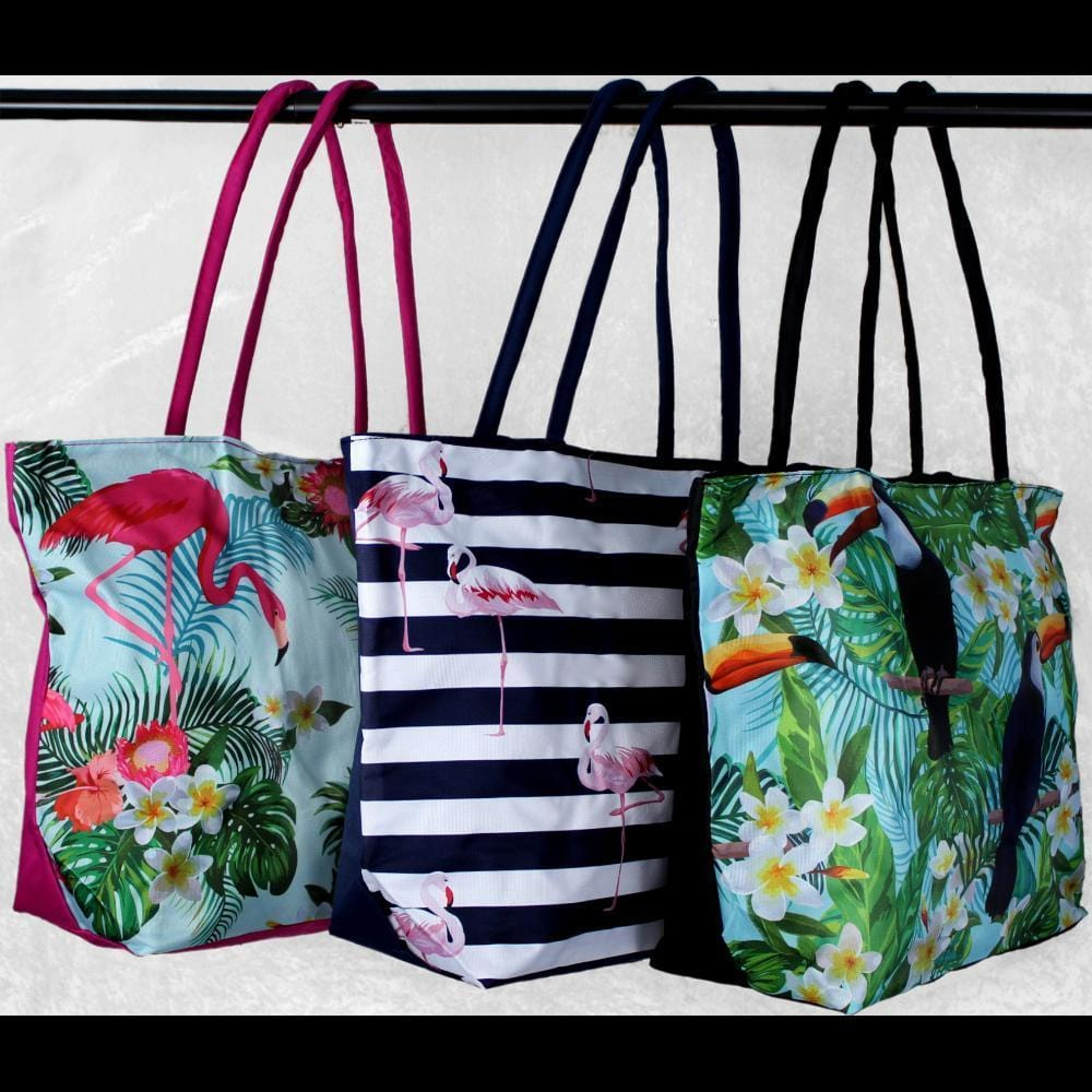 Canvas Beach Bag-Bags & Accessories-Peaceful People