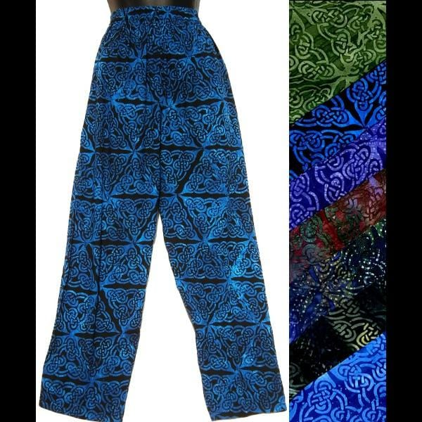 Celtic Batik Pants-Pants-Peaceful People