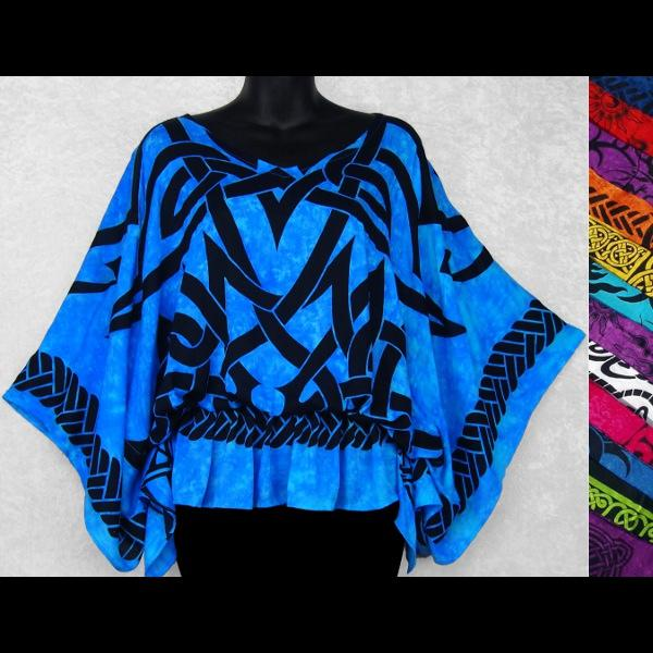 Celtic Butterfly Poncho Top-Tops-Peaceful People