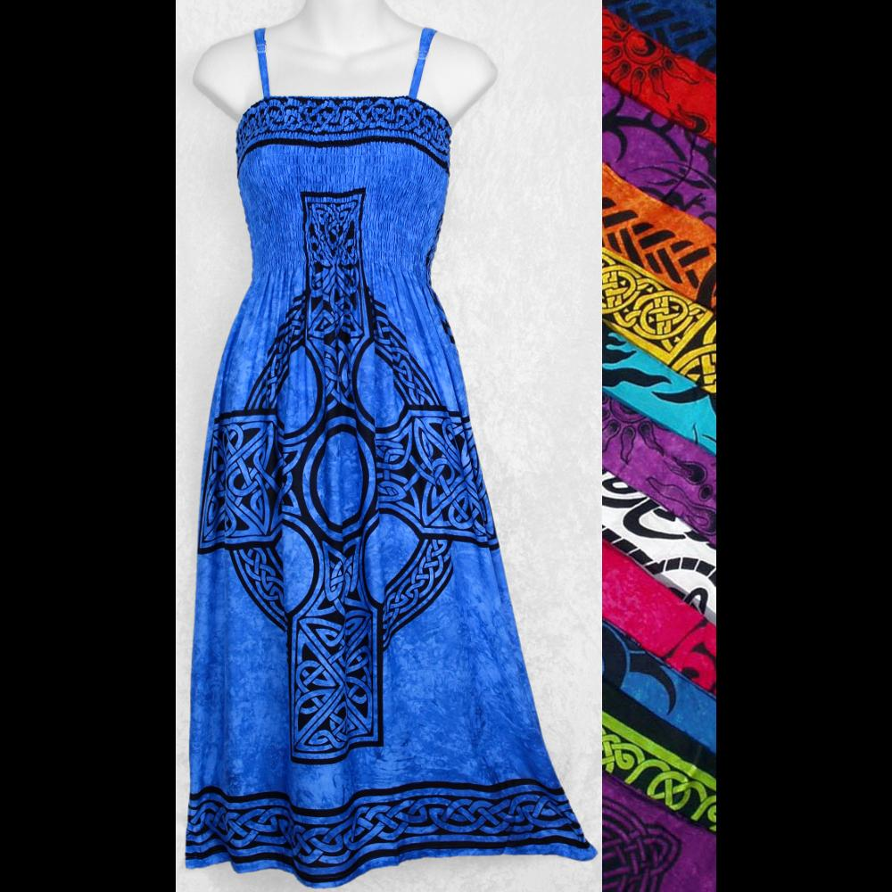 Celtic Sarong Dress-Dresses-Peaceful People