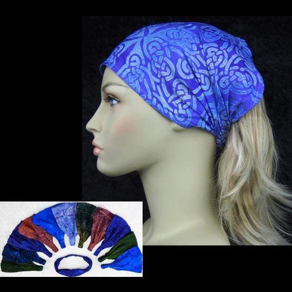 12 Premium Celtic Elastic Bandana-Headbands ($1.75 each)-Celtic-Peaceful People