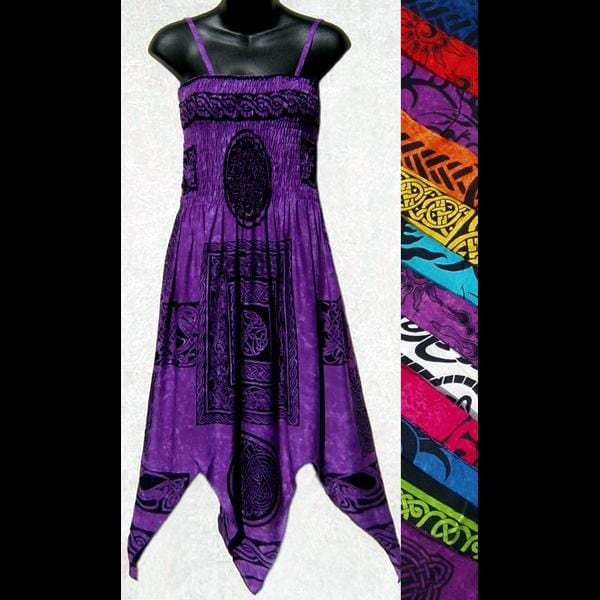 Celtic Fairy Sarong Dress-Dresses-Peaceful People