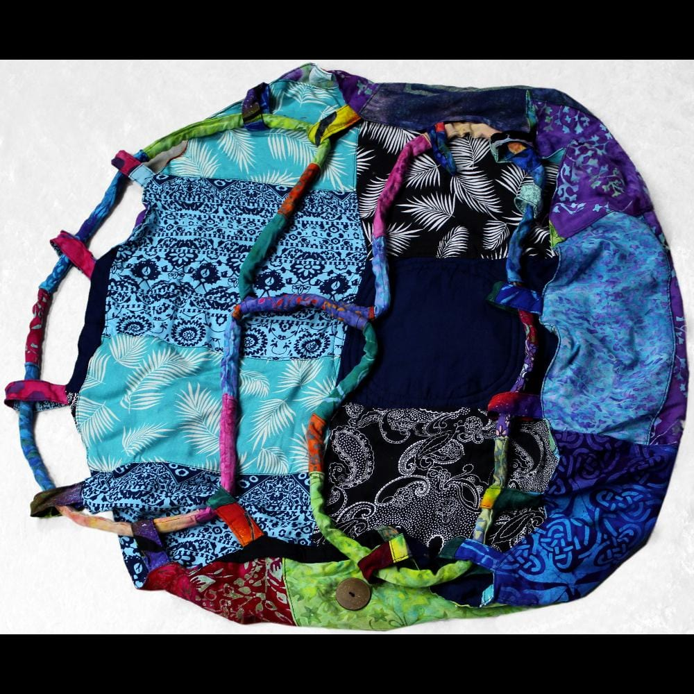 Patchwork Circle Bag-Bags & Accessories-Peaceful People