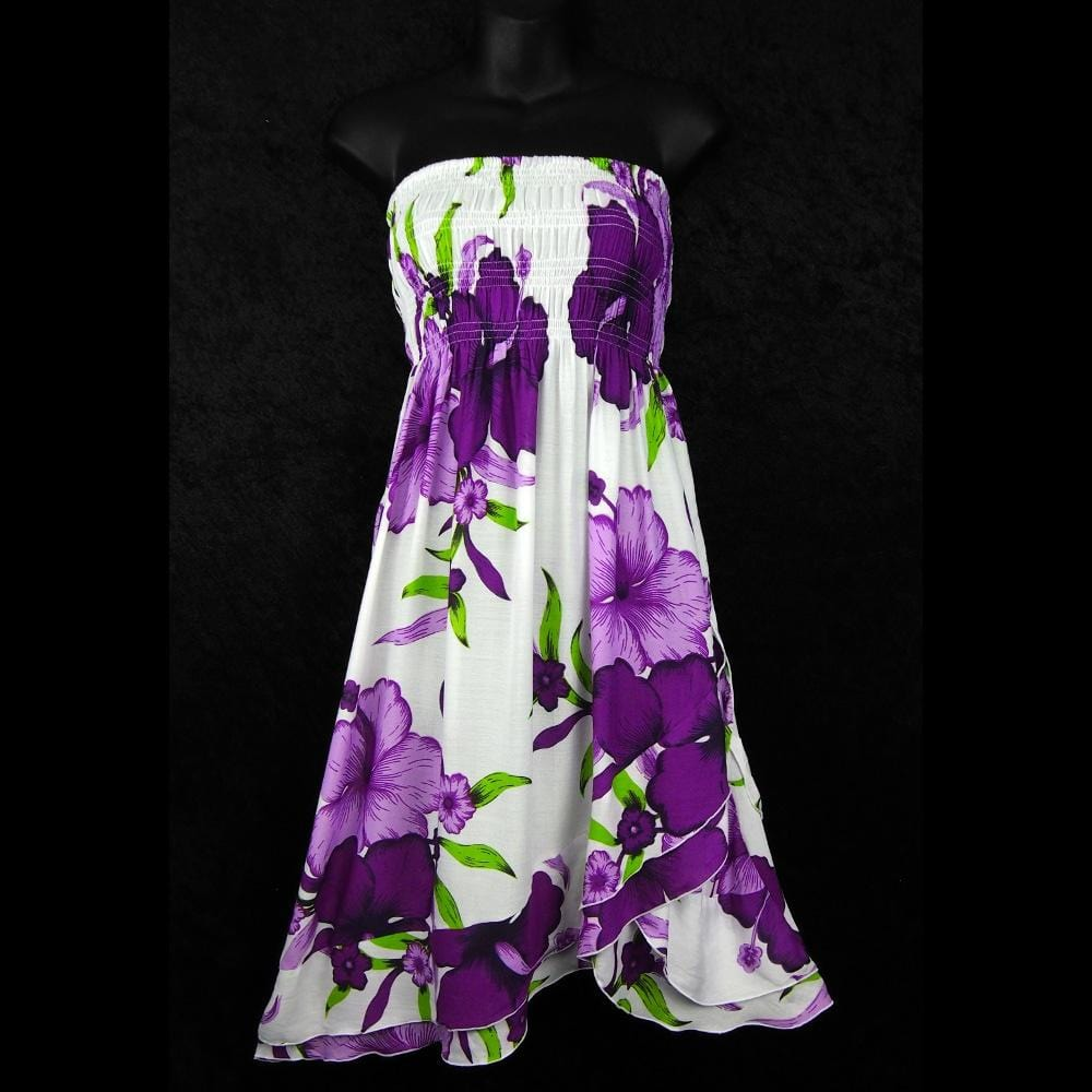 Bright Flower Convertible Dress/Skirt-Dresses-Peaceful People
