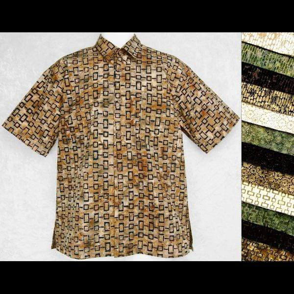 Cotton Batik Holiday Shirt-Shirts-Peaceful People