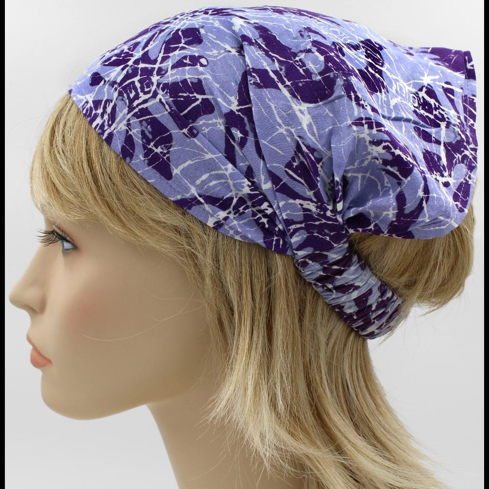 12 Premium Crackle Batik Elastic Bandana-Headbands ($1.75 each)-Bags & Accessories-Peaceful People