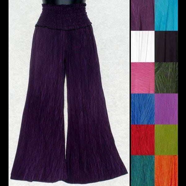 Shelby's Crinkle Long Pants-Pants-Peaceful People