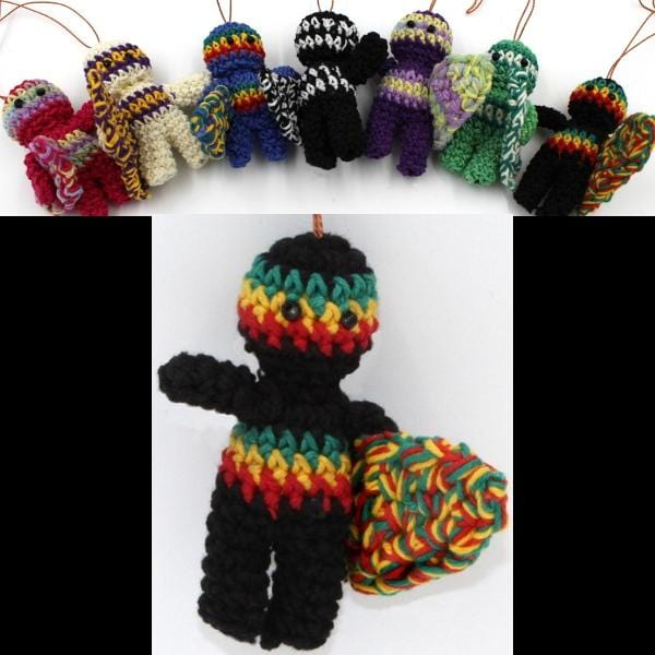 Crocheted Surfer Dudes-Handicrafts-Peaceful People