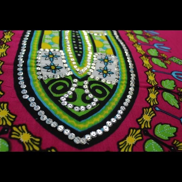 Dashiki Sarongs with Sequins-Sarongs-Peaceful People