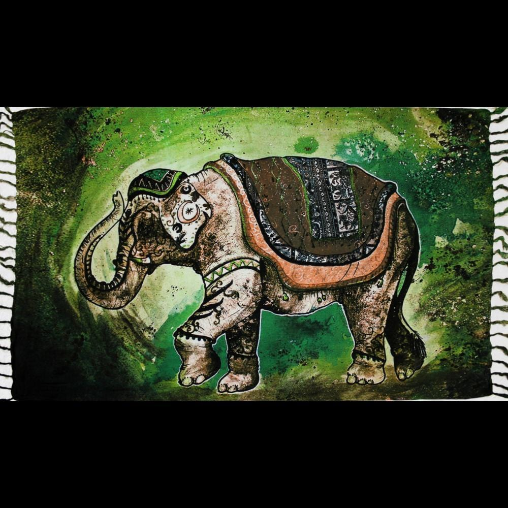 Elephant Real Sarongs-Sarongs-Peaceful People