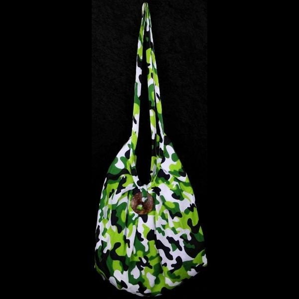 Camouflage Expandable Beach Bag-Bags & Accessories-Peaceful People