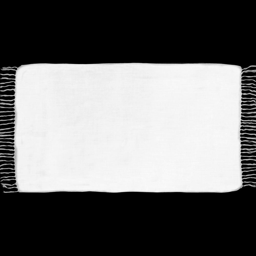 Extra Long White Sarongs-Sarongs-Peaceful People