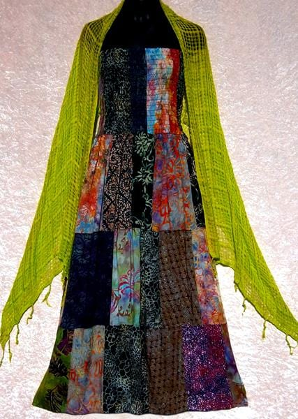 12 Ginger's Open Weave Fashion Scarves ($2.45 each)-Bags & Accessories-Peaceful People