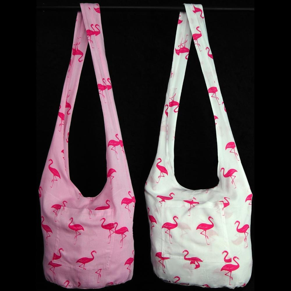 Flamingo Boho Bag-Bags & Accessories-Peaceful People