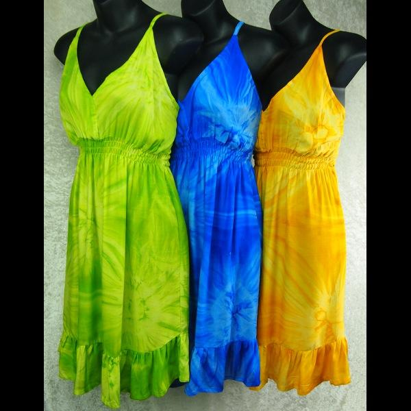 Single Color Star-Burst Tie-Dye Star Dress-Special Deals (reduced prices)-Peaceful People