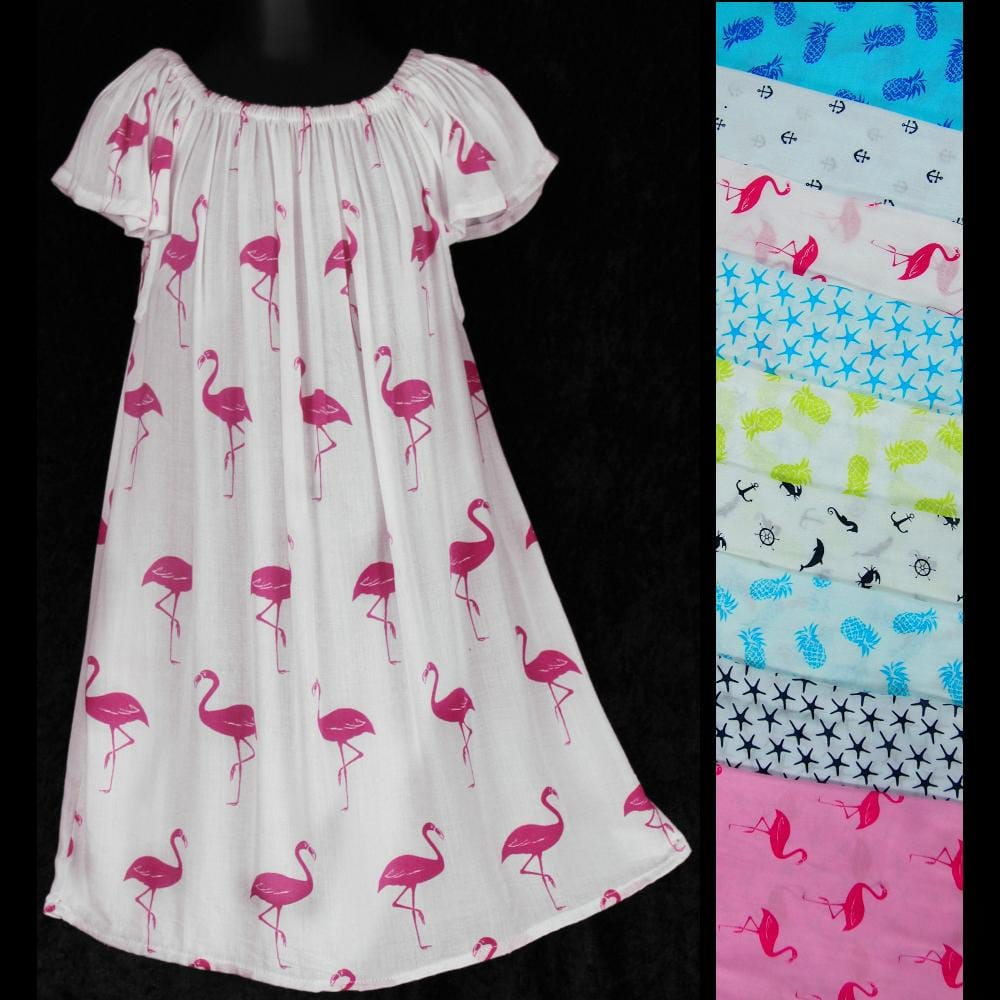 Kai's Dress (Ages: 2)-Dresses-Peaceful People