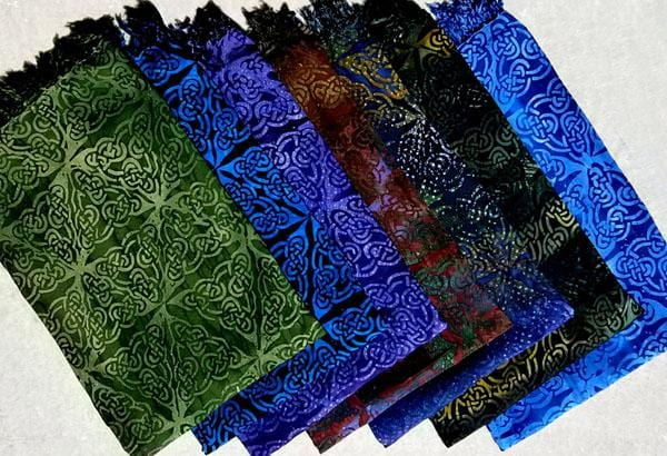 Premium Batik Celtic Design Extra-Large Sarongs-Sarongs-Peaceful People