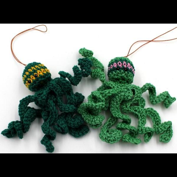 Crocheted Octopus-Handicrafts-Peaceful People