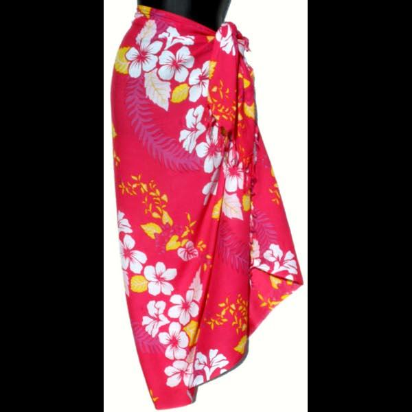 Hawaiian Floral Sarongs-Sarongs-Peaceful People