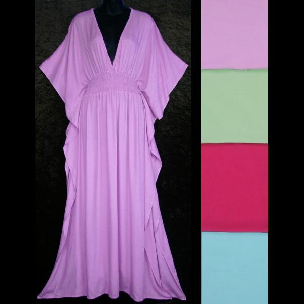 Jessica's Pastel Kaftan-Dresses-Peaceful People