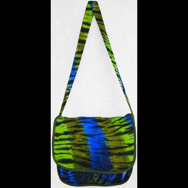 Karma Tie-Dye Courier Bag-Tie-Dye Clothing-Peaceful People