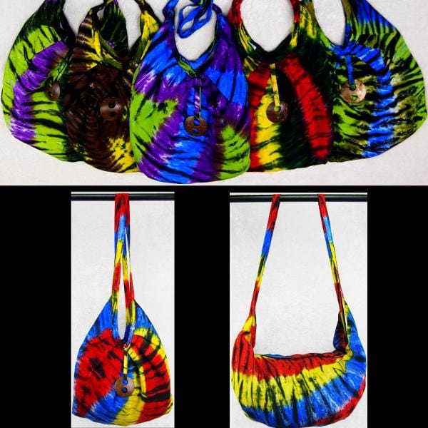 Karma Tie-Dye Expandable Beach Bag-Bags & Accessories-Peaceful People