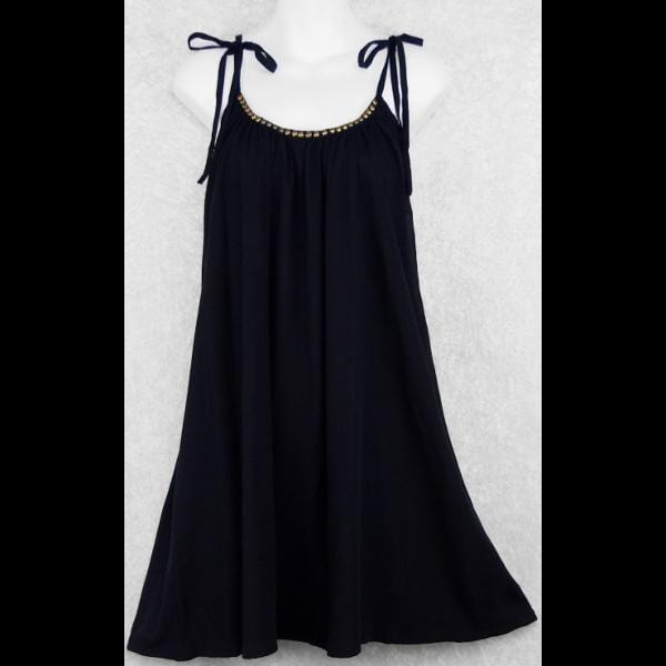 Emily's Little Black Top/Dress-Tops-Peaceful People