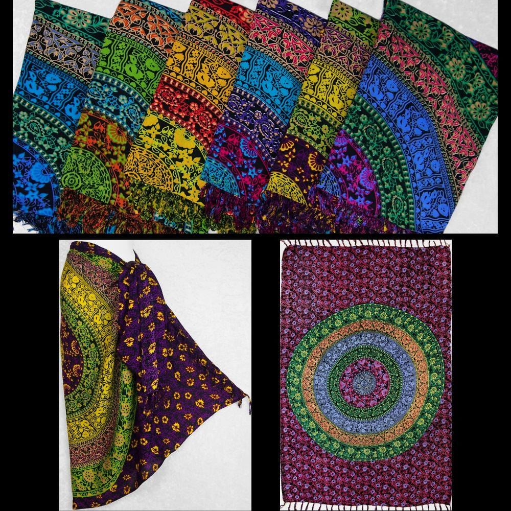 Circles Sarongs-Sarongs-Peaceful People