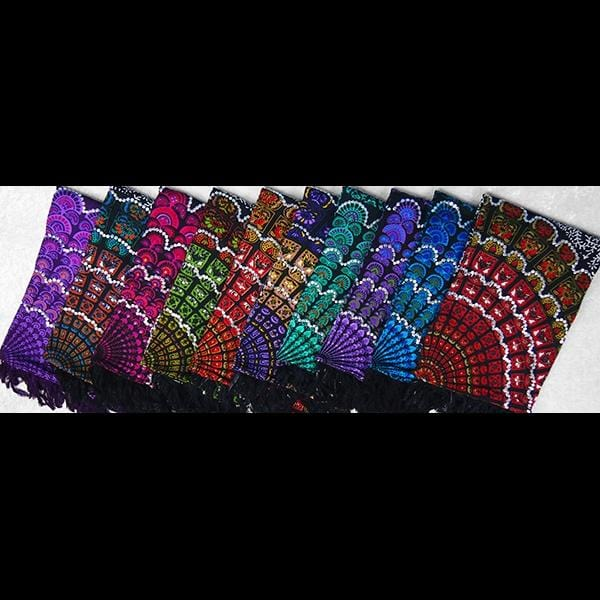 Primitive Mandala Sarongs with Sequins-Sarongs-Peaceful People