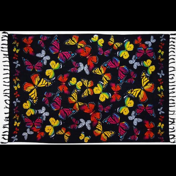 Lisa's Monarch Butterfly Sarongs-Sarongs-Peaceful People