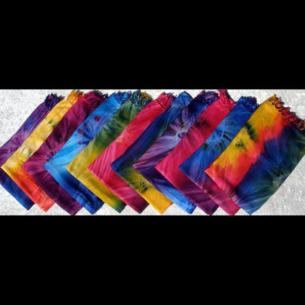 Tie-Dye Pocket Sarongs-Sarongs-Peaceful People