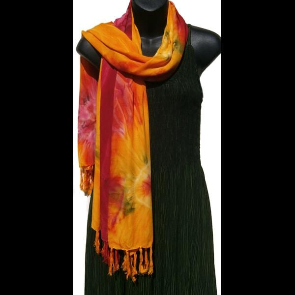 Tie-Dye Scarf/Shawl-Bags & Accessories-Peaceful People