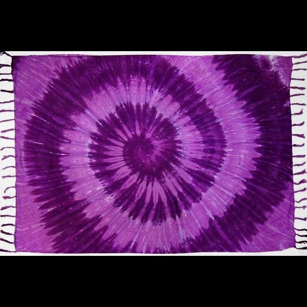 Spiral Nebula Tie-Dye Sarongs-Sarongs-Peaceful People