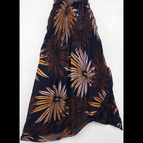 Palm Frond Convertible Dress/Skirt-Dresses-Peaceful People