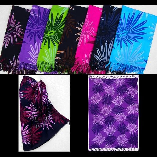 Palm Frond Sarongs-Sarongs-Peaceful People