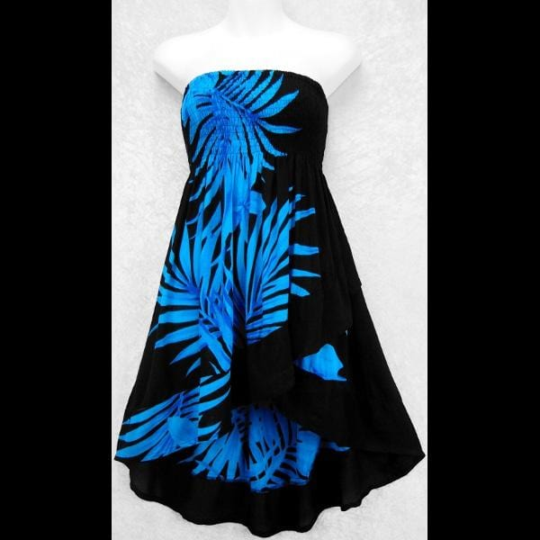 Palm Ruffled Convertible Top/Skirt-Tops-Peaceful People