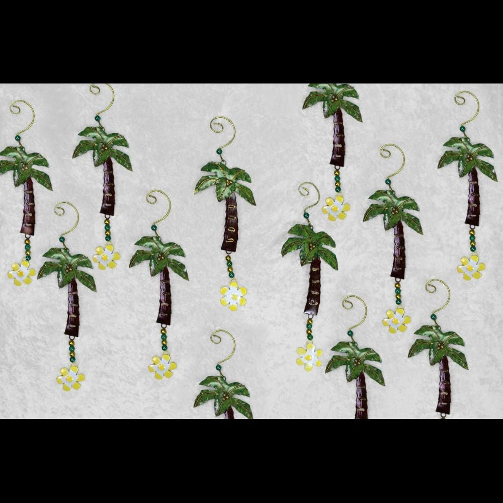 12 Palm Tree Ornaments ($1.95 each)-Handicrafts-Peaceful People