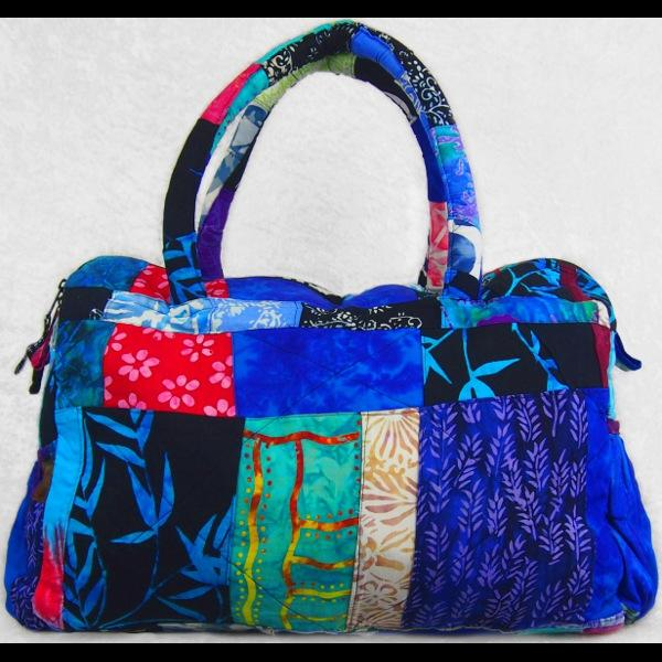 Patchwork Duffel Bag-Bags & Accessories-Peaceful People