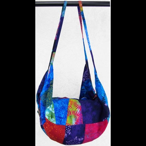 Patchwork Expandable Beach Bag-Bags & Accessories-Peaceful People