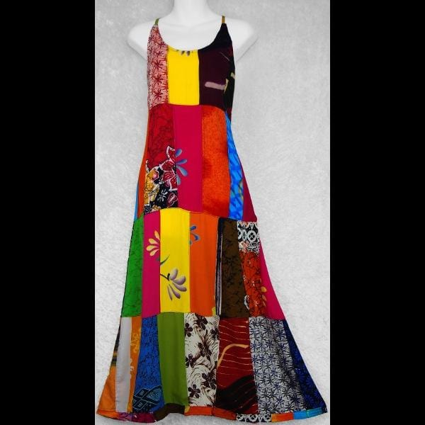 Tanya's Patchwork Dress-Dresses-Peaceful People