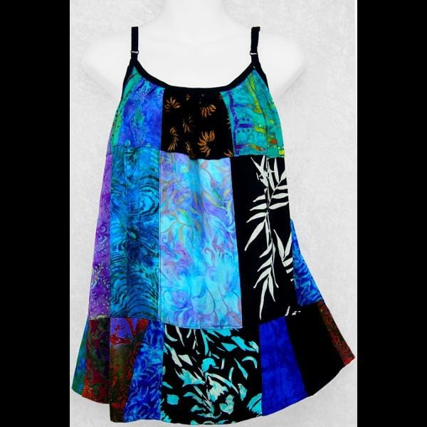 Gina's Patchwork Top-Tops-Peaceful People