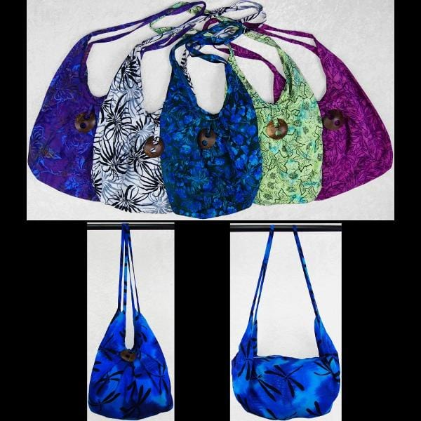 Premium Batik Expandable Beach Bag-Bags & Accessories-Peaceful People