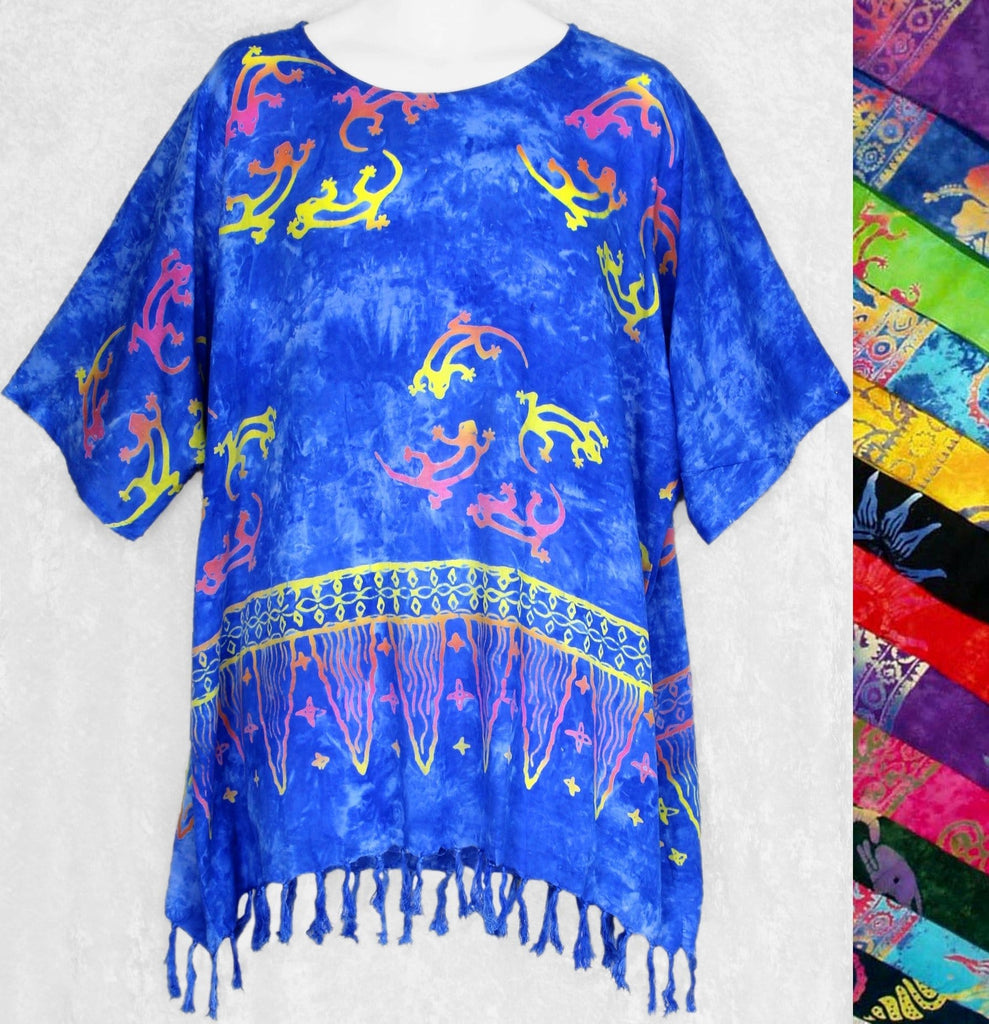 Batik Shirt Pullover-Tops-Peaceful People