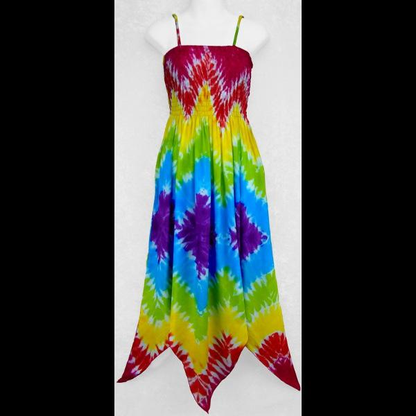 Diamond Rainbow Fairy Dress-Dresses-Peaceful People