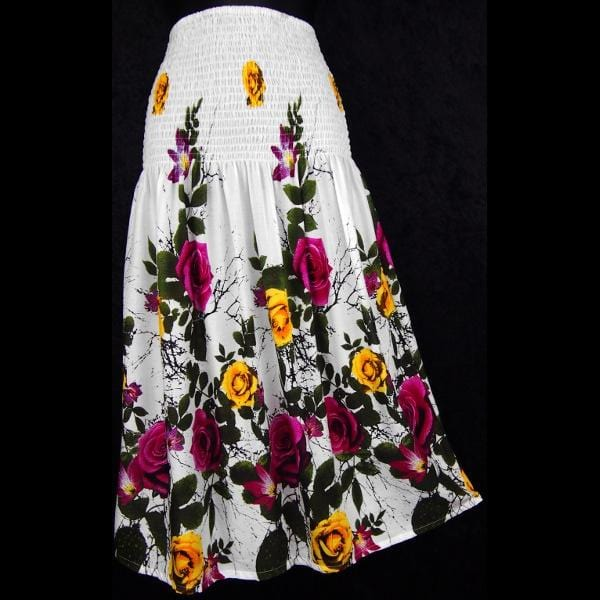 Rose Tube-Top Convertible Dress/Skirt-Dresses-Peaceful People