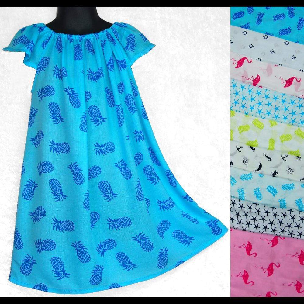 Leilani's Long Top (Ages: 4, 6, 8, 10)-Dresses-Peaceful People